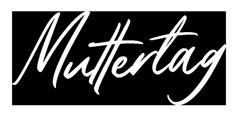 """Schriftzug """"Muttertag"""""""
